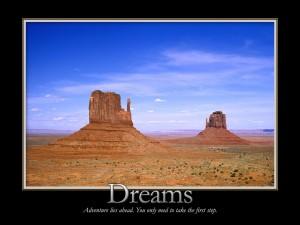 Soñando en el Valle de los Monumentos