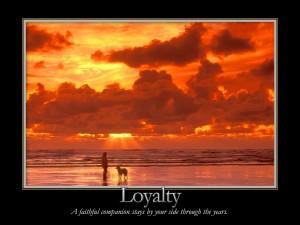 Que hermosa es la lealtad