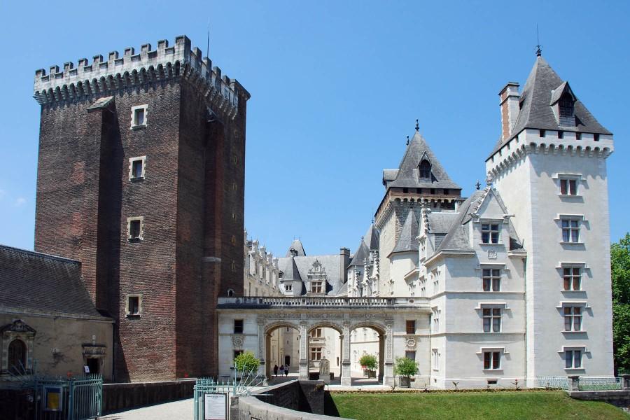 Castillo de Pau (Francia)