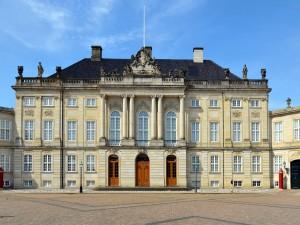 Palacio de Amalienborg (Copenhague, Dinamarca)