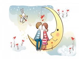 Amor en la luna