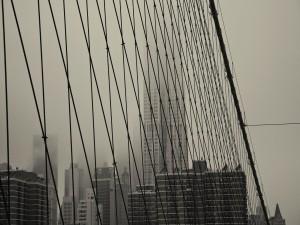 La ciudad vista desde el puente