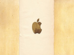 Original logo de Apple