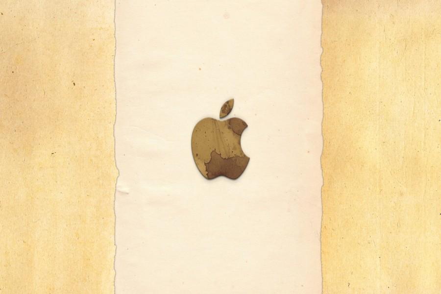 Original logo de Apple