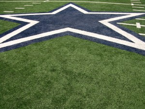 Estrella en el estadio de los Dallas Cowboys