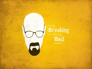 La silueta de Walter White (Breaking Bad)