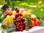 Deliciosas y exquisitas frutas