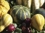 Calabazas y verduras