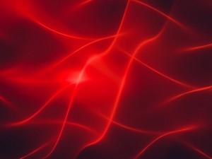 Líneas abstractas en tonos rojos
