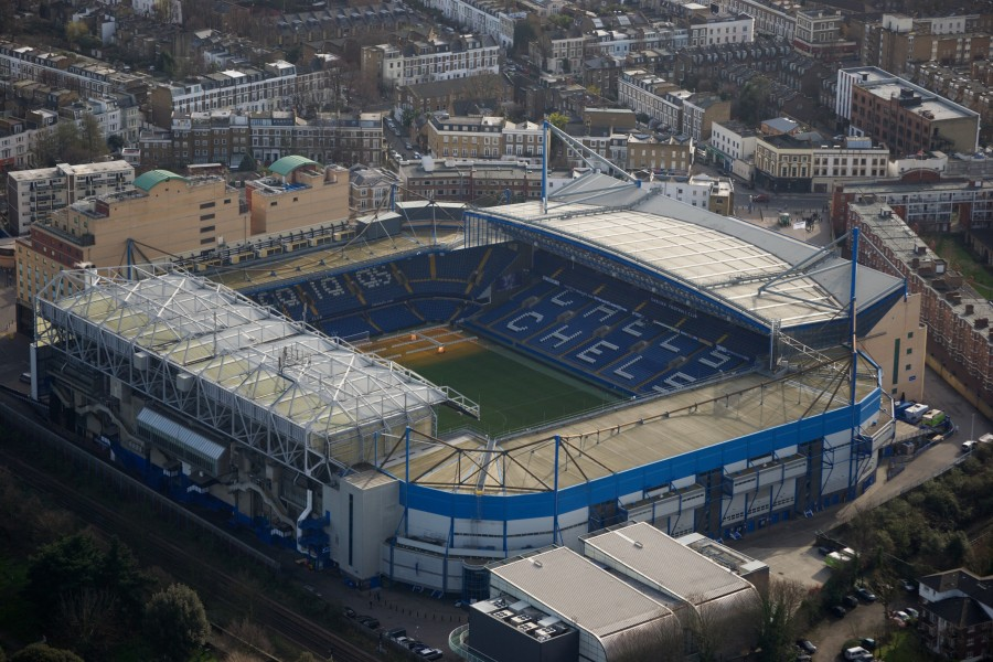 "El Estadio del Chelsea ""Stamford Bridge"""