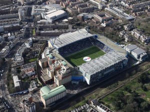 Vista del Stamford Bridge (Chelsea Fútbol Club)