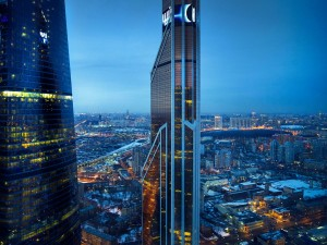 Vista parcial de Moscú