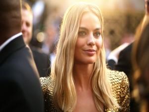 La bella actriz australiana Margot Robbie