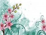 Ramas con flores