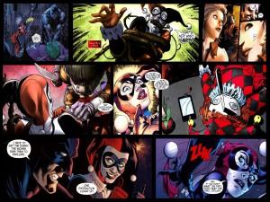 Imágenes del cómic Harley Quinn