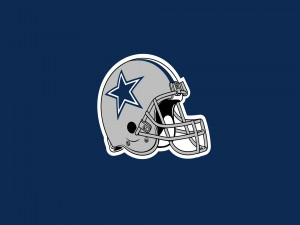 Casco de los Dallas Cowboys