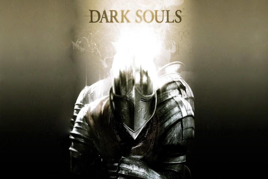 """Luz brillando sobre la armadura """"Dark Souls"""""""