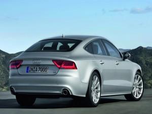 Audi A7 Sportback de color plata
