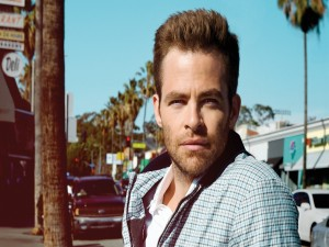 El actor Chris Pine