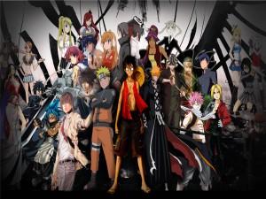 Personajes de varios anime