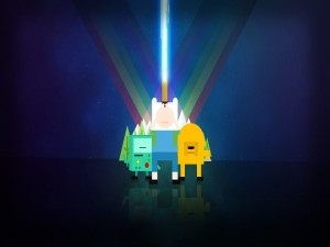 Adventure Time y Beemo