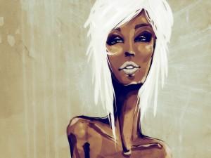 Retrato de una chica