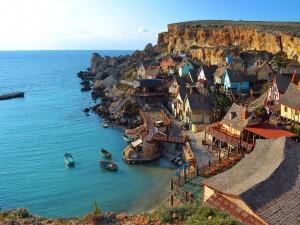 Pequeño pueblo en Malta