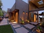 Diseño agradable fuera de la casa