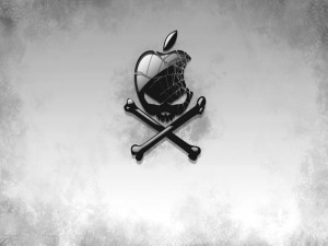 Logo de Apple skull