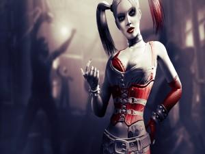 La supervillana Harley Quinn