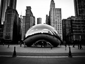 Chicago en blanco y negro