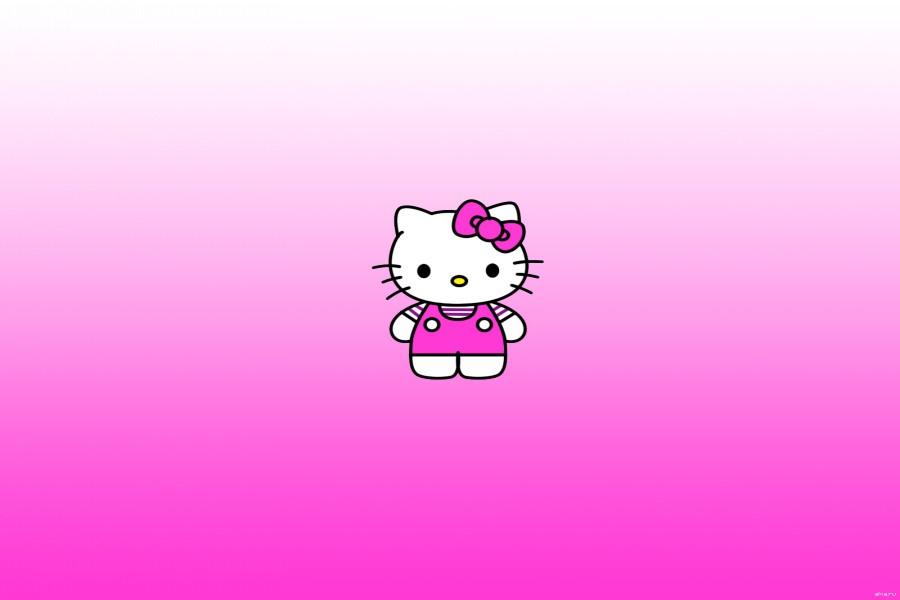 La pequeña Hello Kitty