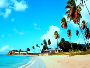 Bonita playa caribeña
