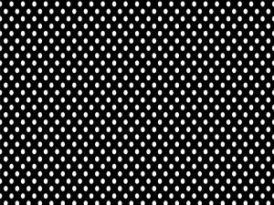 Puntos blancos sobre fondo negro