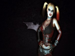 "Harley Quinn en ""Batman: Arkham City"""