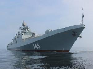 """El buque de patrulla """"Almirante Grigorovich"""""""