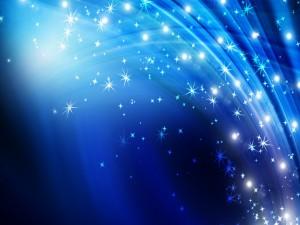 Arcoíris de estrellas