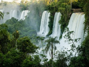 Magníficas cataratas del Iguazú (Argentina)