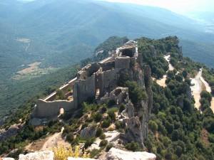 Castillo de Peyrepertuse (Francia)