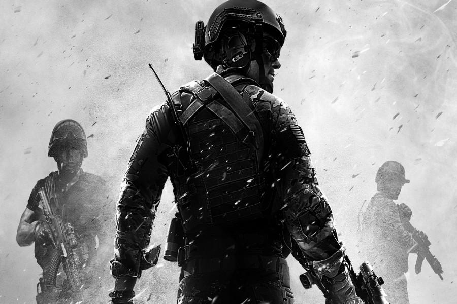"""Soldados armados """"Call of Duty"""""""