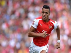 Alexis Sánchez  jugador del Arsenal F.C.