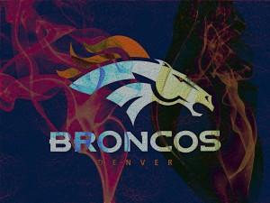 Logo de colores de los Denver Broncos
