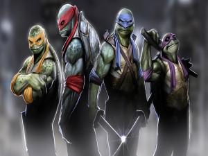 Tortugas Ninja (Michelangelo, Donatello, Leonardo y Raphael)