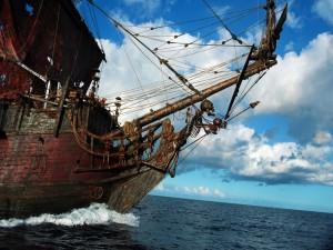Impresionante nave pirata