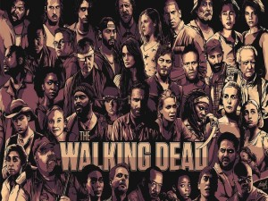 "Personajes de ""The Walking Dead"""