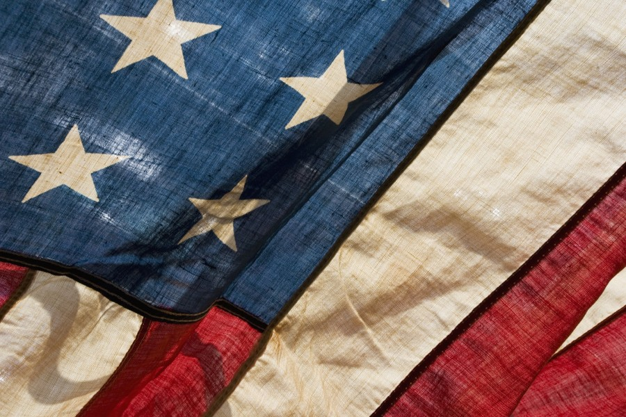 Estrellas en la bandera americana