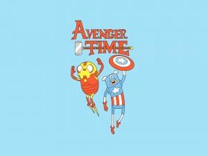 """Finn y Jake de """"Adventure Time"""""""