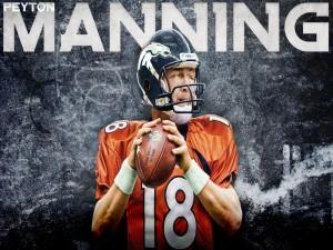 Peyton Manning, jugador de los Denver Broncos