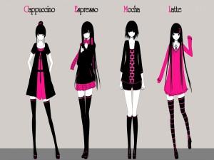Moda anime