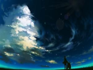 Contemplando el cielo